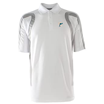 Nfl men 39 s miami dolphins point desert dry for Embroidered polo shirts miami