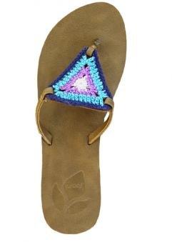 Reef Womens Love Crochet Sandal Multi Size 8 front-1066724