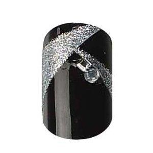 party-nails-kit-dongles-pret-a-poser-2x-pack-de-12-ongles-total-de-24-ongles-couleur-black-diamond-s