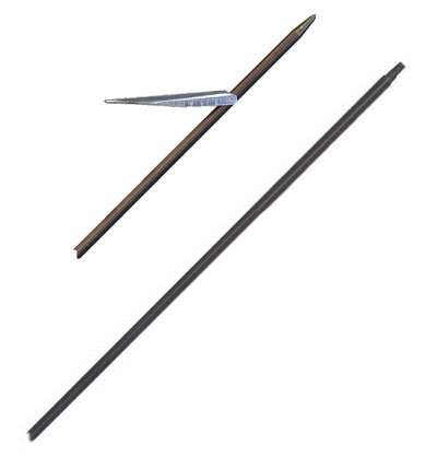 Tahitian Style Adopt-A-Shaft for Spearguns - 37 x 9/32 Inch