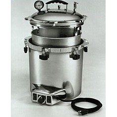 All American 25X-120V electric autoclave sterilizer.