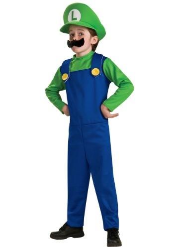 Child Luigi Costume - Large