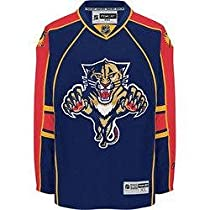 Florida Panthers NHL 2007 RBK Premier Team Hockey Jersey (Team Color) (Large)