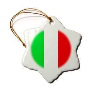 Click to buy Italian Christmas decorations : Italian flag ornament from Amazon!