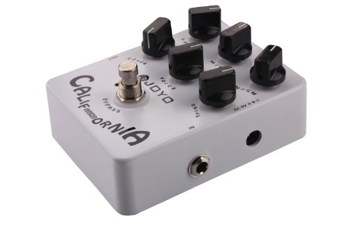 Xiqi Joyo Jf-15 California Sound Effects Pedal With Modern Ultra-High Gain Amp Simulator And Unique Voice Control