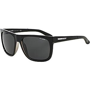 Arnette Fire Drill Unisex Sunglasses - 2159/87 Gloss Black/Clear/Grey