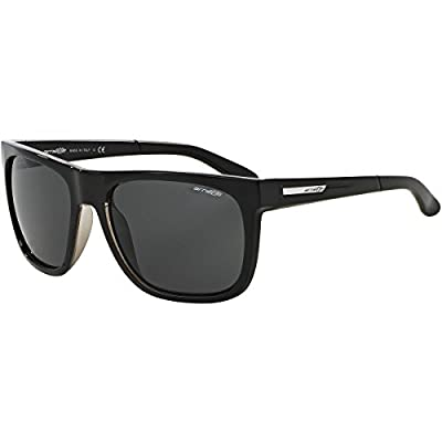 Arnette Fire Drill Unisex Sunglasses - 2159/87 Gloss Black/Clear/Grey