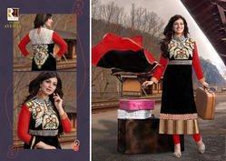 Athena Fashion Semi Stich Dress Material