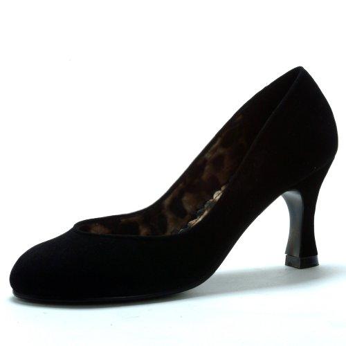 3 Inchvelvet High Heel Pumps Womens High Heel Dress Shoes Size: 10 Colors: Black