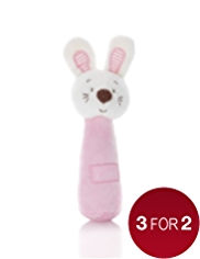 Rabbit Jingle Stick Toy