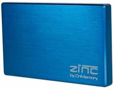 CnMemory Zinc externe Festplatte 1TB (6,4 cm (2,5 Zoll), USB 3.0) blau