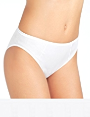 5 Pack No VPL High Leg Knickers with Super Soft Modal