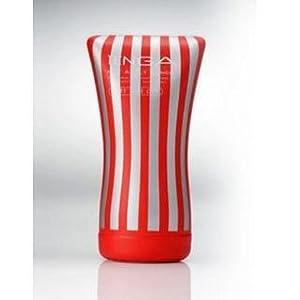 もむ、なでる、圧迫する、など様々な快感が楽しめる!TENGA(テンガ) ソフトチューブカップ TOC-102