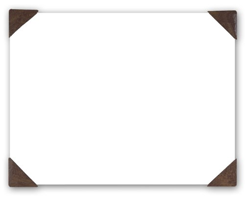 House Of Doolittle 400-03 Doodle Desk Pad, 50-Sheet Pad, Refillable, 22 X 17, White, Brown