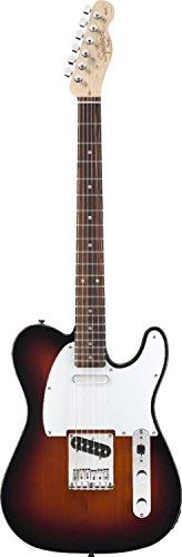 Squier By Fender Affinity Telecaster Electric Guitar, Rosewood Fingerboard, Brown Sunburst