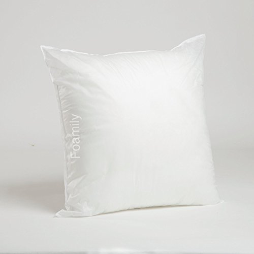 Sale!! 20 x 20 Premium Hypoallergenic Stuffer Pillow Insert Sham Square Form Polyester, Standard / W...