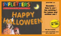 "Infletters Inflatable Letters Boxed Set ""HAPPY HALLOWEEN"" - 1"