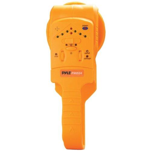 PYLE PMD24 Handheld Stud/Metal/Voltage Detector with Sensitivity Adjustments (PMD24)