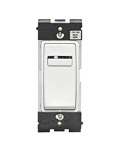 Leviton Rel06-Ww Renu Universal 300-Watt Led And Cfl/600-Watt Incandescent/600Va Magnetic Low Voltage Dimmer, White