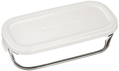 イワキ 保存容器 パイレックス パック&レンジ BOX ハーフ ホワイト N3246-W