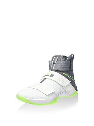 Nike Zapatillas abotinadas Lebron Soldier 10 SFG (Blanco / Gris)