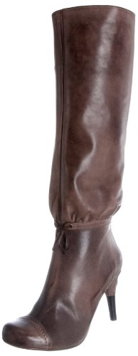 Hard Hearted Harlot Women's Acton Chocolate Boot Angie 8 UK