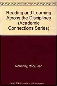 Key concepts : reading and writing across the disciplines