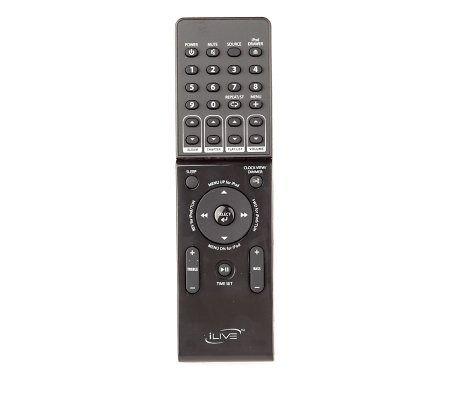 Ilive It188B Speaker Bar Remote Control