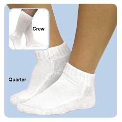 As Seen on TV ESWW-2412 Diabetic Qrtr Socks - 2-Pack