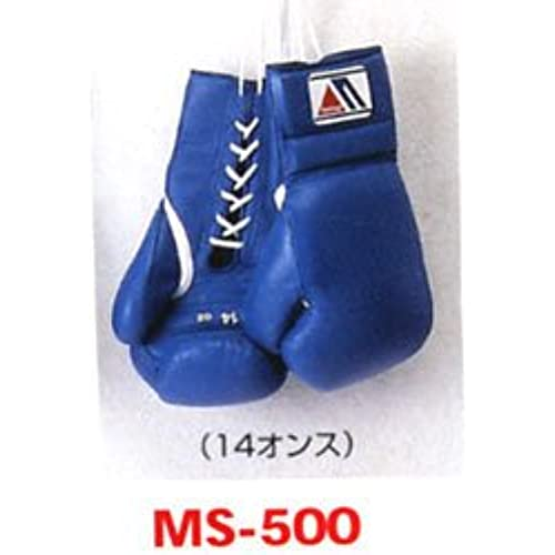 WINNING(winning) 위닝 위닝 연습용 글로브 프로페셔널 타입 끈식 14온스 MS-500 블루