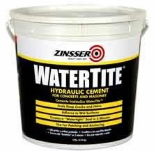 ZINSSER WATERTITE Hydraulic Cement for Waterproofing of Concrete & Masonry