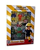 Fireman Sam Figure & Accessory Pack Fireman Sam,Tom & Norman