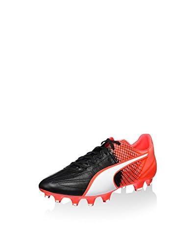 Puma Fußballschuh Evospeed 3.5 Lth Fg schwarz/rot/weiß