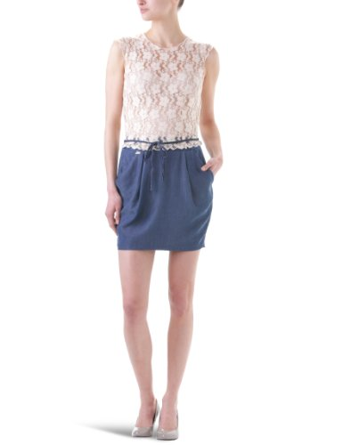 Miss Sixty Lucille Women's Dress Denim/Pink Large