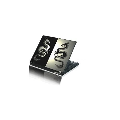 Laptop Notebook Skins Sticker Cover H417 Double Dragon (Brand New with 2 FREE touch pad decals)