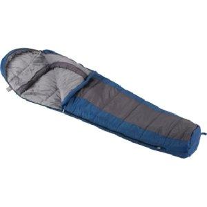 49669 Sante Fe 20 Degree Blue/Gray Mummy Wenzel Sleeping Bag