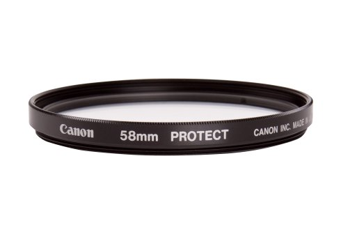 Canon Filtre de protection pour lentille frontale Verre neutre 58 mm