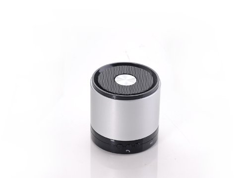 Solememo® Myvision 788S Bluetooth Speaker Mini Speaker For Car Portable Speaker Bluetooth Wireless Speaker Outdoor For Iphone/Tv/Ipod/Mp3 Player By Solememo (Silver)