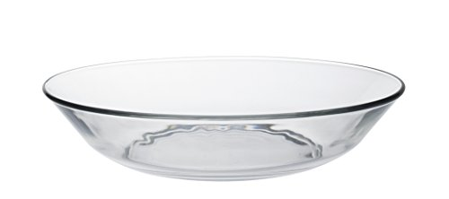 6 Luminarc Cadix Dinner Plate 27cm Eat Home Glass White Party Wedding Tableware