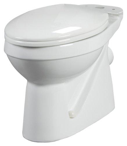Bathroom Anywhere 38720 Macerating Elongated Toilet Bowl, White