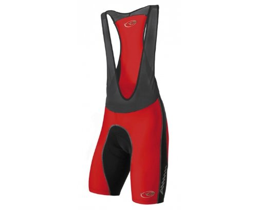ALTURA 2012 Men's Ergofit Comp Bib, Black/Red, XXL