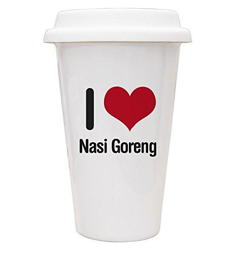 I Love Nasi Goreng Mug de voyage écologique en 2400