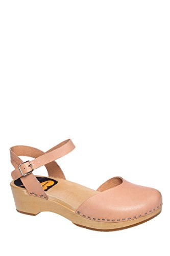 Covered Low Wedge Sandal
