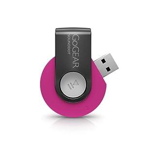 Philips, Lettore MP3 audio GoGear SoundDot da 2 GB, Pink