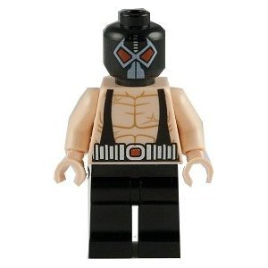 LEGO Superheroes BANE minifig at Gotham City Store
