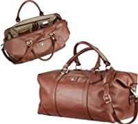 Cutter & Buck Leather Weekender from Cutter & Buck