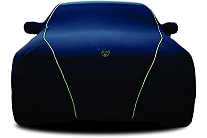 TPH-NOVA-BLACK-Indoor-Car-Cover-with-Green-Piping-for-Mitsubishi-Galant