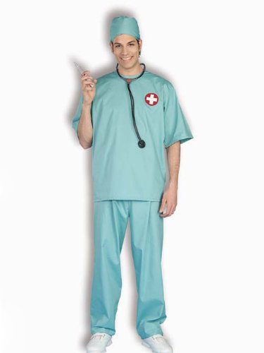 Mens Theatre Costumes Medical Doctor Couples Costume Scrubs Hospital Surgeon