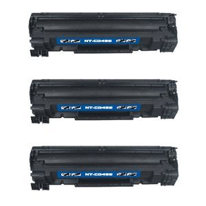 3-Pack HP 35A (CB435A) Compatible Brand 1,500 Page Yield Toner Cartridge For Use With The HP LaserJet P1002, P1003, P1004, P1005, P1006 and P1009 Printers