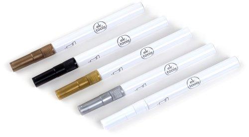 ek-tools-5-pack-paint-pens-metallic-fine-tip